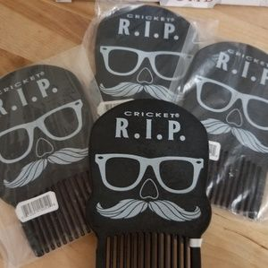 Beard comb Rest in Place R.I.P. (4)